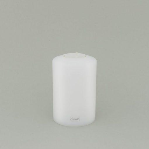 FARLUCE Teelichthalter 8 x 12 cm, Classic, weiß