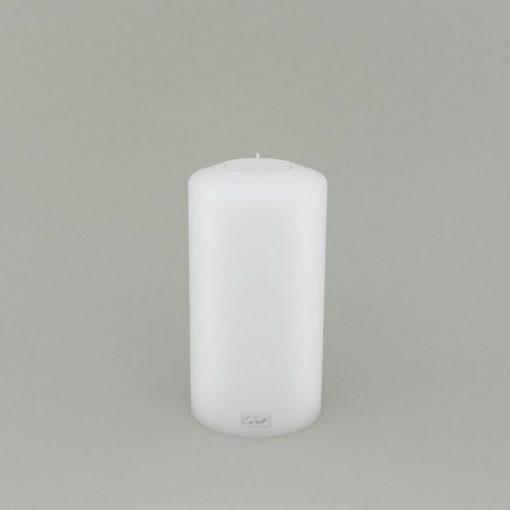 FARLUCE Teelichthalter 8 x 15 cm, Classic, weiß