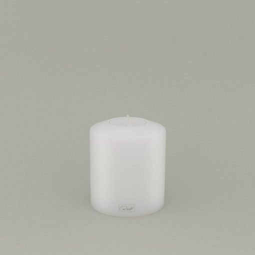 FARLUCE Teelichthalter 8 x 9 cm, Classic, Weiß