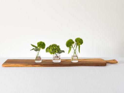 Chimney Vasen von LSA mit Servierbrett Laura Living