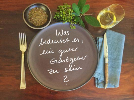 Was bedeutet es, ein guter Gastgeber zu sein?