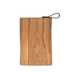 Schneidebretter Holz, Eiche, Lederschlaufe, Laura Living, 35x25 cm