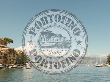 Stimmung mit Stempel Portofino