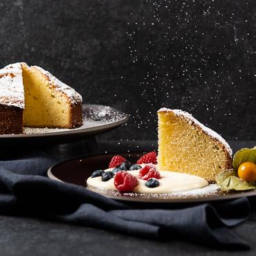 Torta Sabbiosa, italienisches Dessert