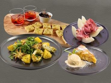 Menü italienisch, ligurisch, Portofino