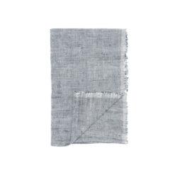 Original Home Tischläufer Grau, Baumwolle handgewebt, nachhaltige Produkte