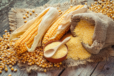 Mais und Polenta