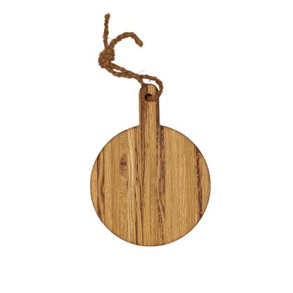 Pizza-Servierbrett Holz mit Griff, Laura Living Style, Durchmesser 30 cm