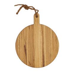 Pizza-Servierbrett Holz mit Griff, Laura Living Style, Durchmesser 40 cm