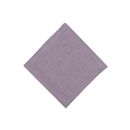 Servietten aus Leinen soft-washed Lavendel