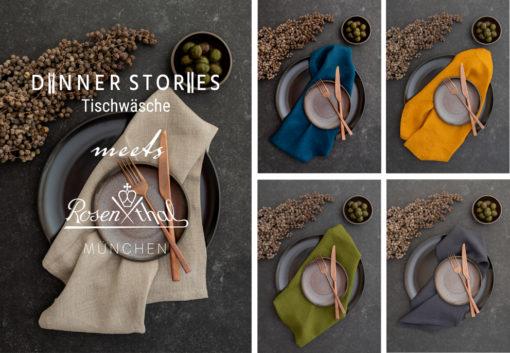 DINNER STORIES Tischwäsche meets Rosenthal Store München