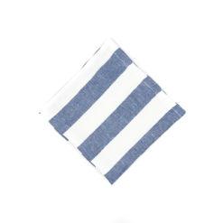 Servietten aus Leinen Blau-Weiß-gestreift (breit) online zu bestellen