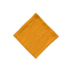 Servietten aus Leinen der Marke DINNER STORIES soft-washed in der Farbe Mango online zu bestellen