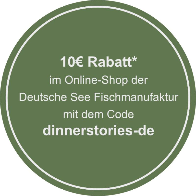 Rabatt Code Deutsche See Fischmanufaktur im Wert von 10€