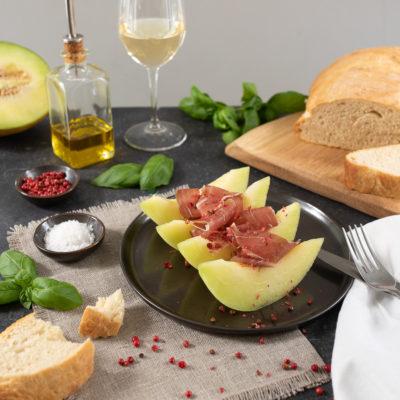 Rezept für Melone mit Parmaschinken, italienische Vorspeise