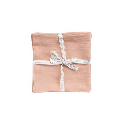 Servietten aus Leinen in Rosé online zu bestellen