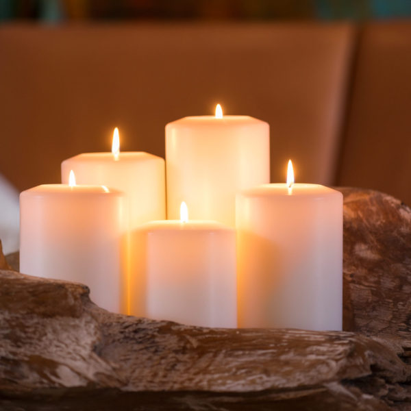 Permanent Kerzen, Teelichthalter Farluce Classic, verschiedene Größen