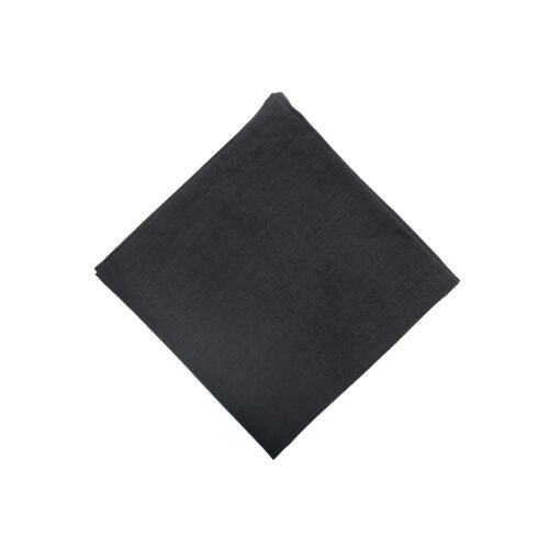 Servietten aus 100% Leinen vorgewaschen in Schwarz