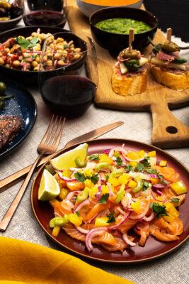 Ceviche Lachs Tapas