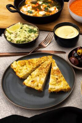 Tortilla Blumenkohl Tapas
